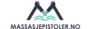 Massasjepistol logo markedsføring